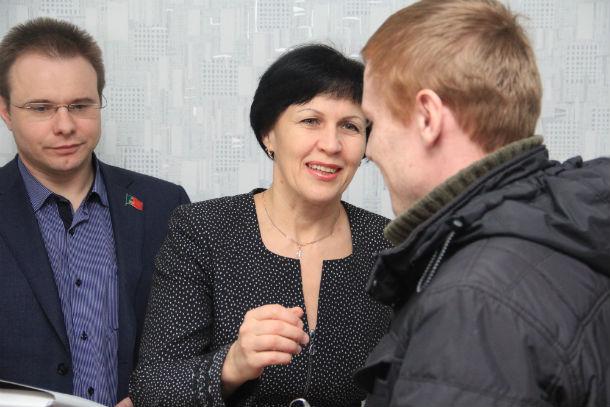 Нина Логунова, начальник управления социальной политики Фото Анны Неволиной
