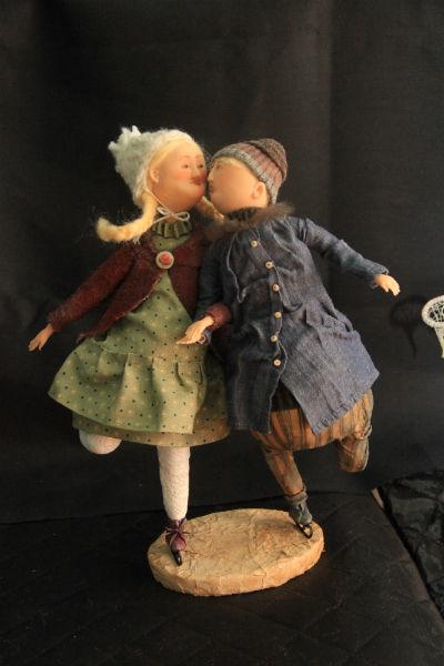 """Евгения не любит """"гладеньких куколок"""". Ее герои — """"идеально некрасивые"""" Фото Анны Неволиной"""