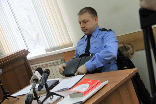 Гособвинитель Николай Морозов Фото Анны Неволиной