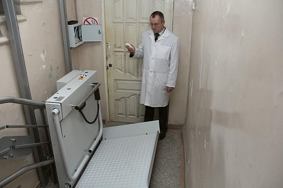 Сюда погружают пациента Фото Анны Неволиной