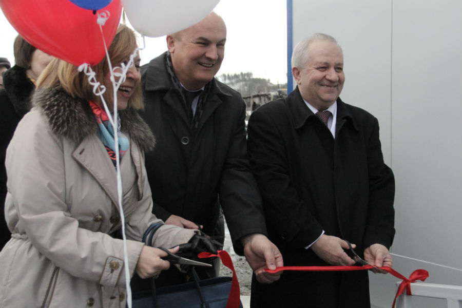Заместитель министра здравоохранения Свердловской области Елена Жолобова также побывала на торжественном открытии ФАП Фото Анны Неволиной