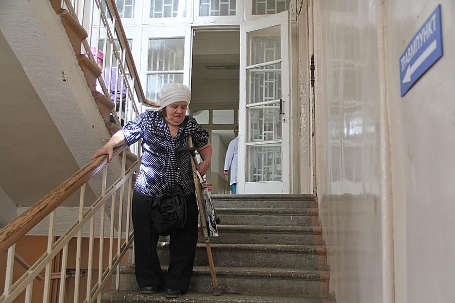 Татьяна Ахмедьянова еще не знает о новом приобретении больницы. Фото Анны Неволиной