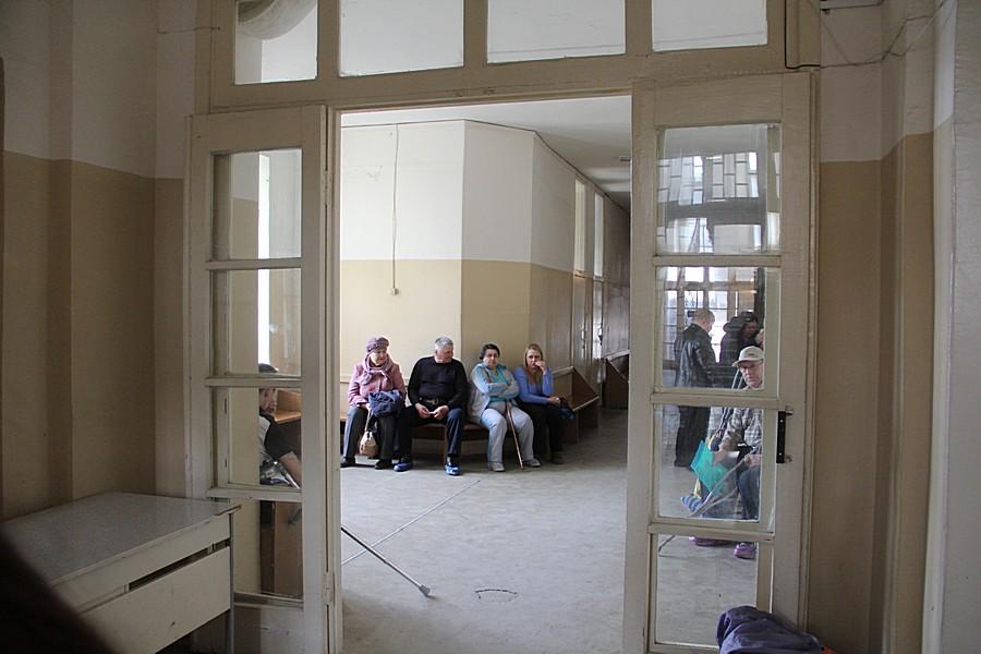 В кабинетах травмпункта, как всегда очереди Фото Анны Неволиной
