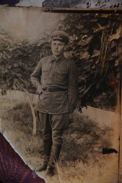 Курсант полковой школы Петр Козлов на пятом месяце службы, 1939 год Фото предоставлено Наталией Савкиной