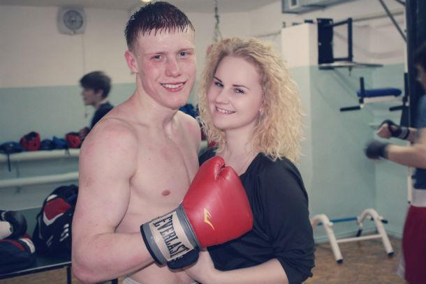 Марк Урванов с девушкой Фото из личного архива Марка Урванова