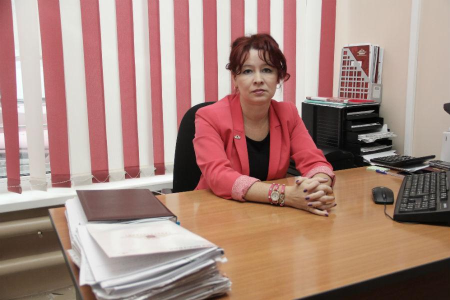 Руководитель «Росгосстраха» в Первоуральске Елена Верещагина Фото Анны Неволиной