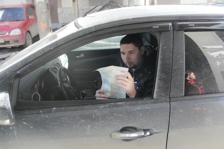 Автомобилист Никита Мордвинов Фото Анны Неволиной