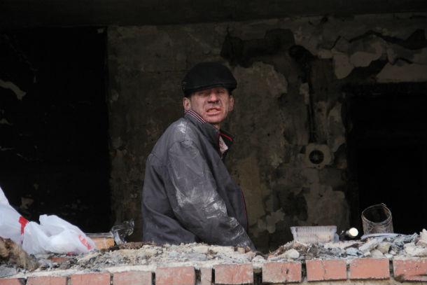 Предположительный виновник пожара Рустам Галин Фото Анны Неволиной