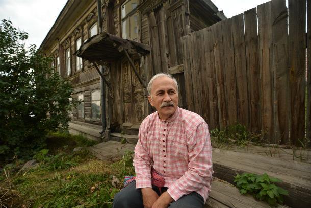 Сергей Саблин, руководитель Народного дома Фото из архива редакции