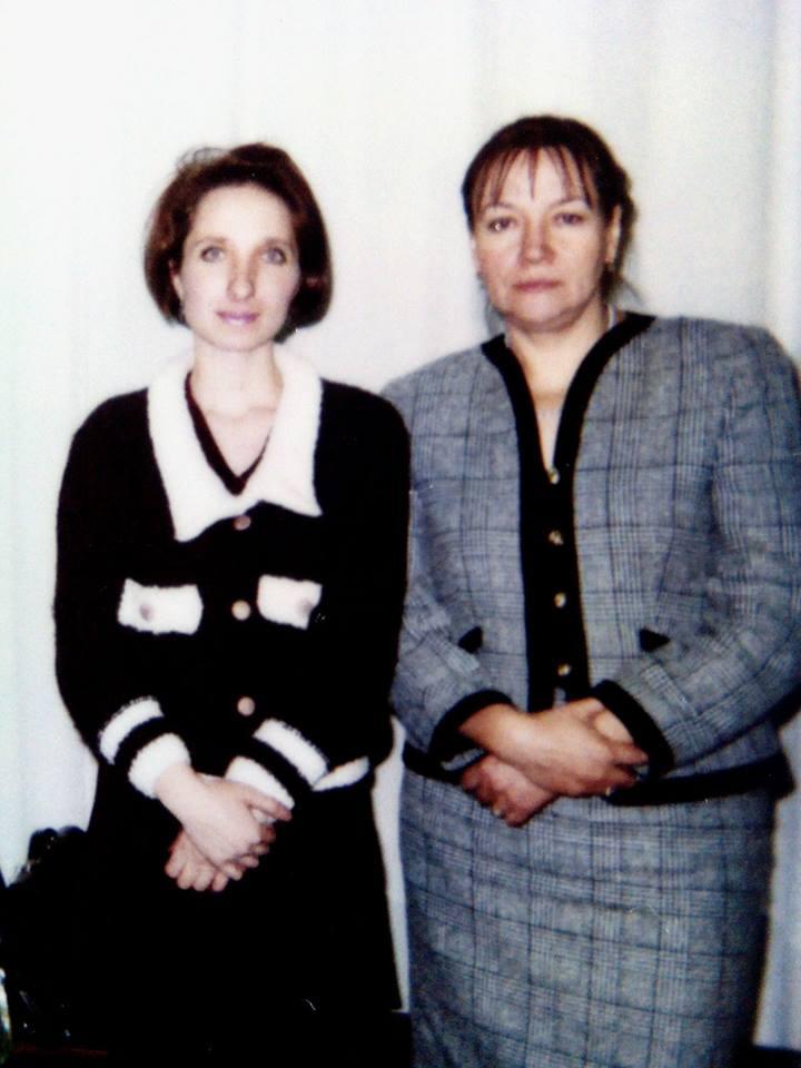 Елена Красулина и Елена Санаева. 1996 год Фото предоставлено Еленой Красулиной