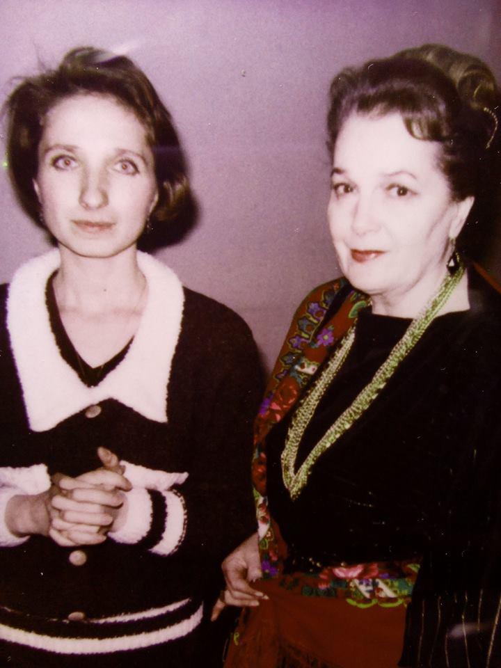 Елена Красулина и Элина Быстрицкая Фото из архива Елены Красулиной