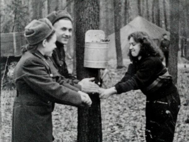 Армейские будни Фото из личного архива Генриетты Кичкировской