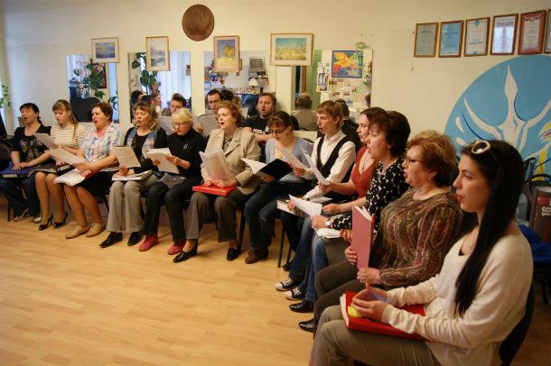 Репетиции к грядущему мероприятию проходят два раза в неделю Фото предоставлено Еленой Шестаковой