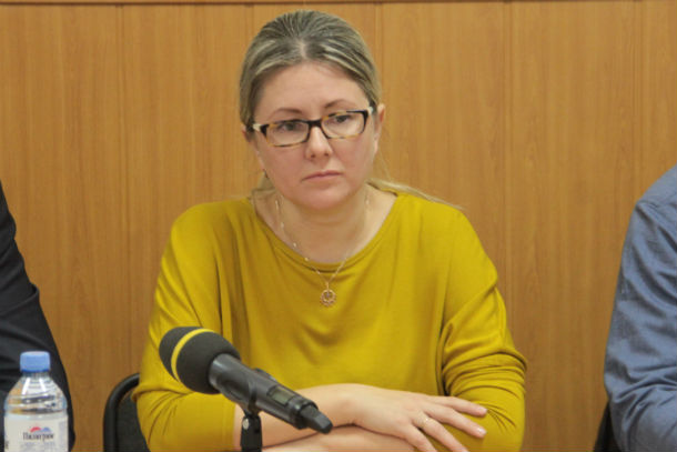 Марина Шолохова Фото из архива редакции