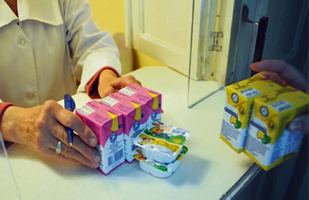 Что получает беременная женщина на молочной кухне