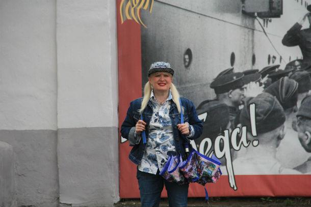 Ольга Варгонова считает: для того, чтобы с чем-то бороться, нужно довести ситуацию до абсурда. Фото Анны Неволиной