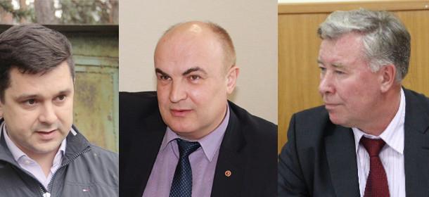 Марат Сафиуллин, Николай Козлов, Эдуард Вольхин (слева направо)