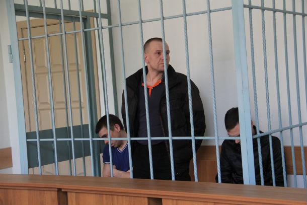 Cлева направо: Данила Кузьмин, Сергей Мухлынин и Александр Берсенев. Фото Анны Неволиной