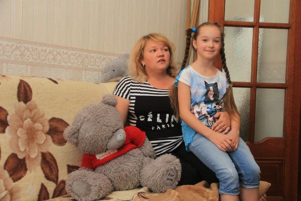 Валерия с мамой, Анастасией Потаповой Фото Анны Неволиной