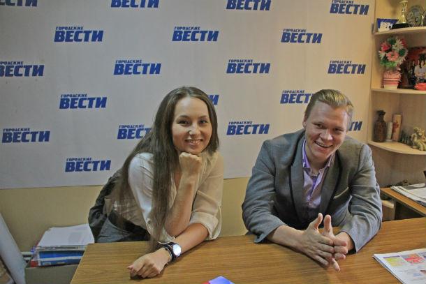 Евгения Цыганова и Евгений Гуляев Фото Анны Неволиной
