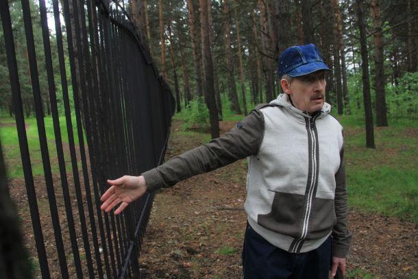 Первоуральцу Алексею Кудрину не по душе перемены, которые происходят в городском ПКиО Фото Анны Неволиной