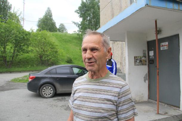 Старший по дому Василий Мальцев Фото Анны Неволиной