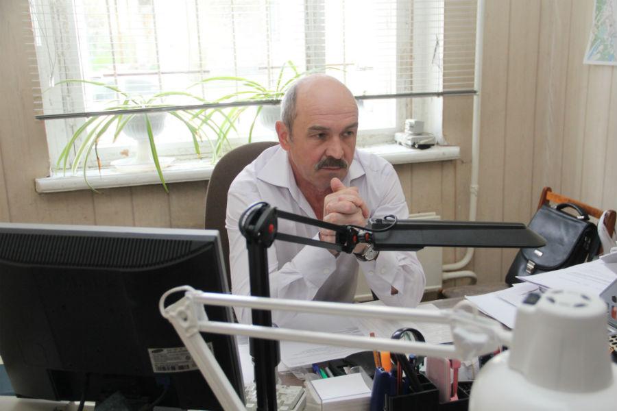 Директор компании «Первоуральсклифт» Василий  Минюк Фото Анны Неволиной