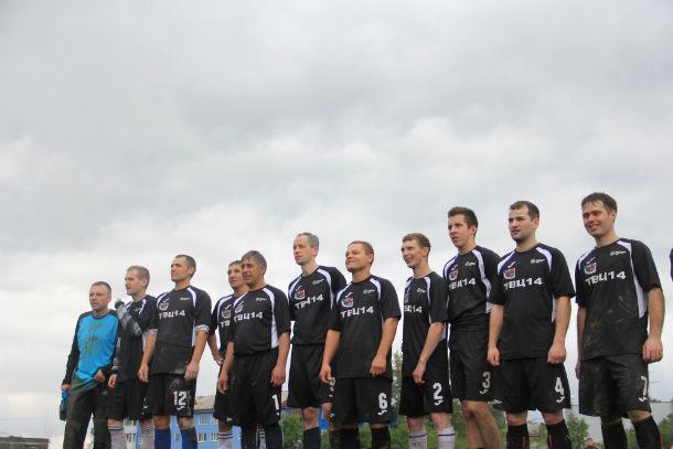 Сборная команда цеха №14 ПНТЗ — обладатели бронзовых медалей Фото Анны Неволиной