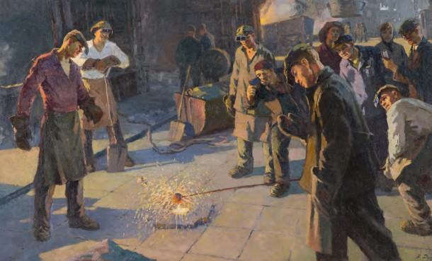 В. И. Дудин - Проба стали, 1963 г.
