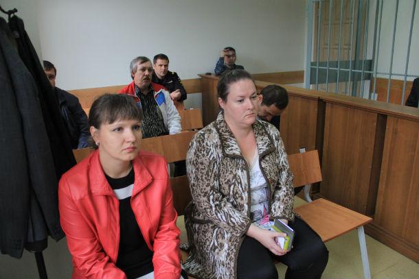 Юлия Ахмадшина и Елена Бочкарева Фото Анны Неволиной