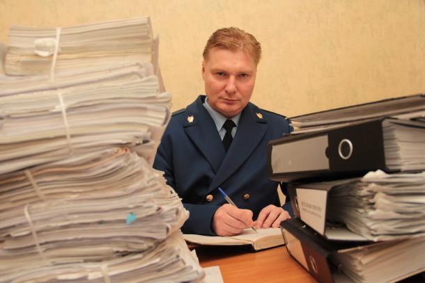 Вячеслав Решетников, заместитель прокурора Фото из архива редакции