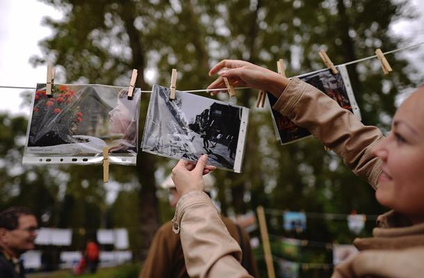 На первую в Первоуральске «Сушку» приехали десятки фотографов — городских, и их коллег из Ревды. Фото Владимира Коцюбы-Белых