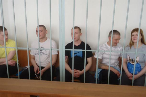 Слева направо: Евгений Шулин, Рустам Сафин, Дмитрий Баканин, Алексей Ромашов и Елена Пестерова. Фото Андрея Попкова
