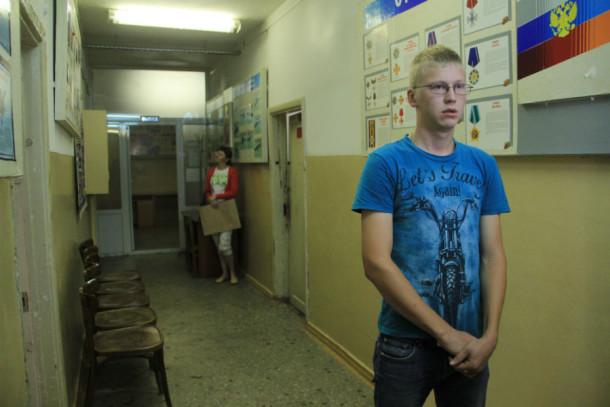 Выпускник ПМК Дмитрий Рахимов хочет служить в автомобильных войсках Фото Анны Неволиной