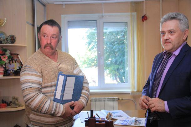 Владимир Терехов и Юрий Жильцов Фото Анны Неволиной