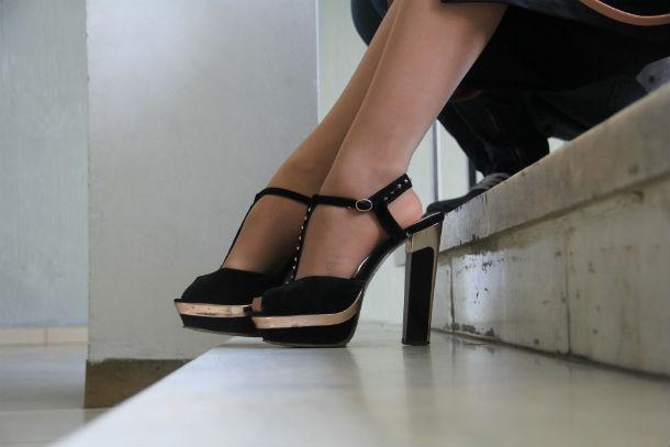 10 пар туфель с кастинга конкурса красоты «Краса России-Свердловская область»