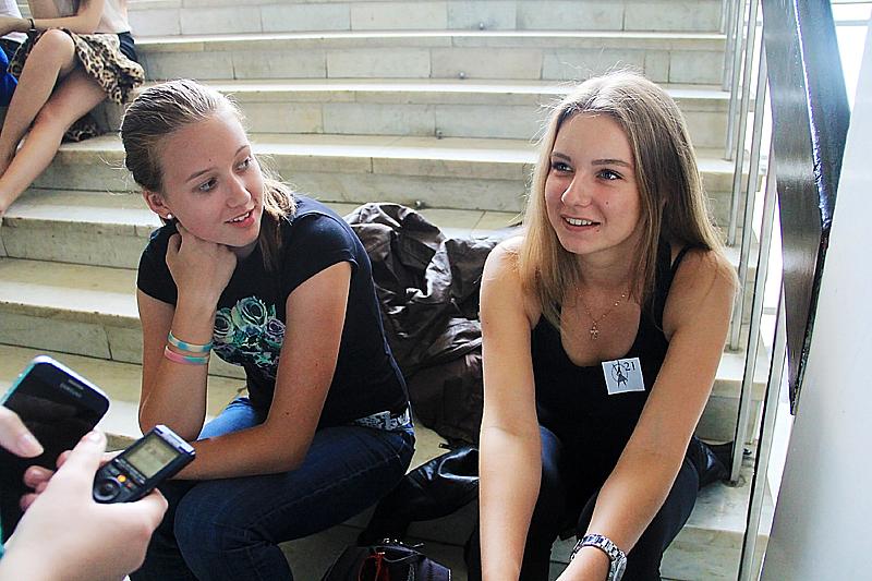 Анна Приемщикова (справа) Фото Анны Неволиной