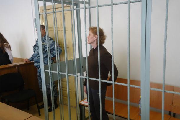 Елена Казанко в зале суда Фото Андрея Попкова