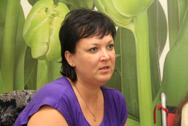 Наталья Царева не опускает руки и надеется, что все усилия не напрасны Фото Анны Неволиной