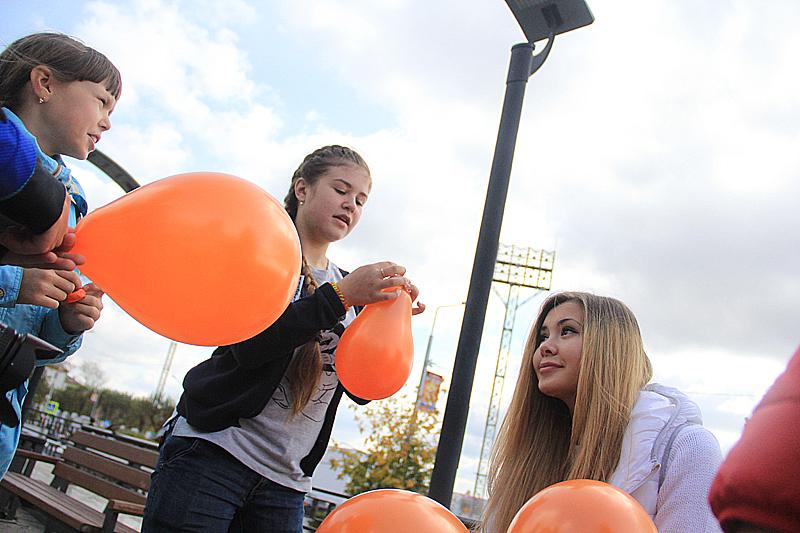 Самые юные участники фотокросса — учащиеся школы № 4 Фото Анны Неволиной