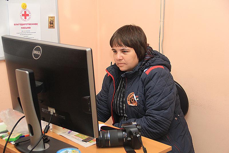 Участница фотокросса Юлия Рякшина Фото Анны Неволиной