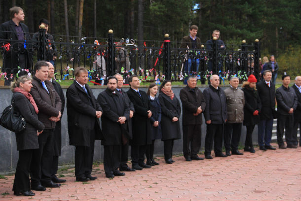 Среди высокопоставленных гостей не было консула Украины Фото Анны НЕволиной