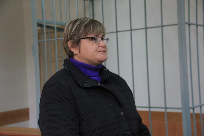 Потерпевшая 50-летняя Елена Махнева Фото Анны Неволиной