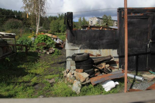 Все, что осталось от дома №88 по ул. Красных Партизан Фото из архива редакции