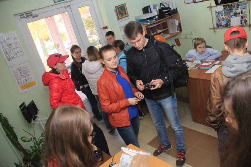 Регистрация участников Фото Анны Неволиной