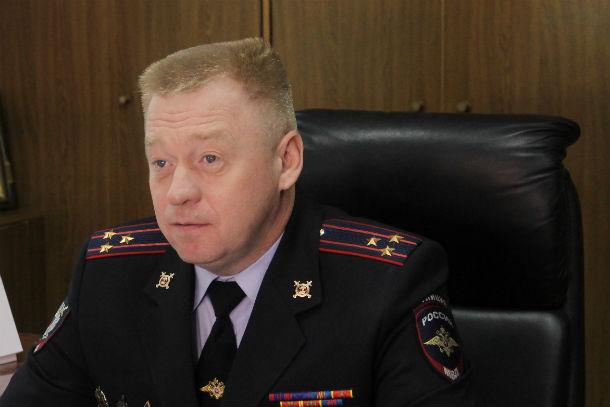 Олег Грехов, начальник первоуральского ОМВД Фото Анны Неволиной