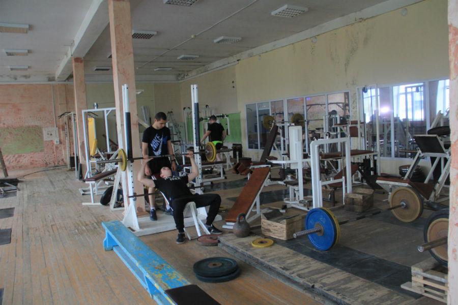Тренажерный зал в Доме спорта