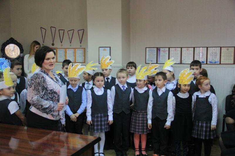 Втроклашки из школы № 10 Фото Анны Неволиной