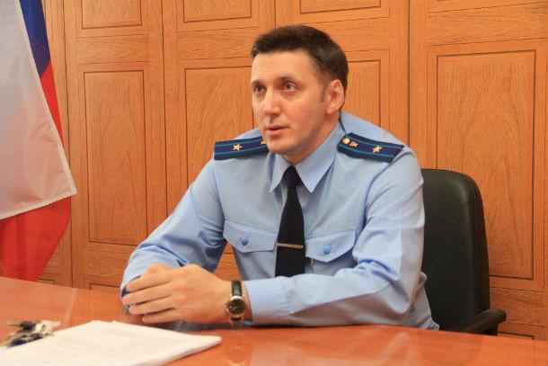 Андрей Елисеев, старший помощник прокурора Фото Марии Поповой