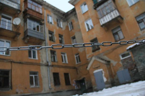 Ватутина, 33 - дом, где активные жители держат под контролем ход ремонтов Фото Марии Поповой